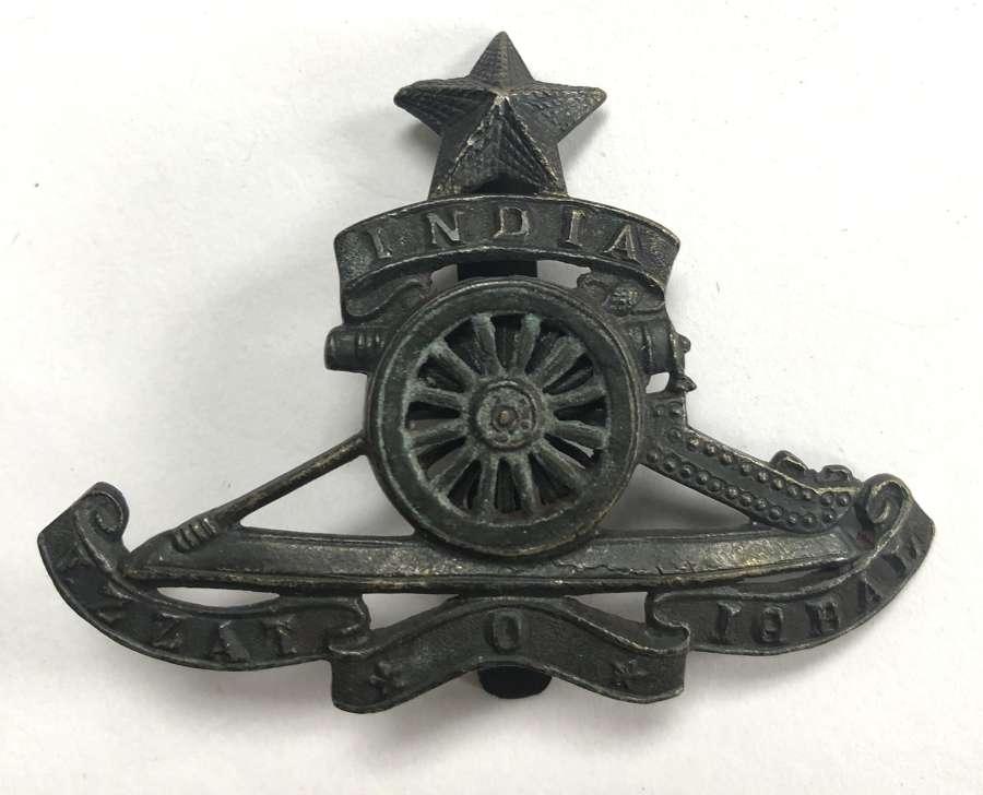 Indian Army Artillery cap badge