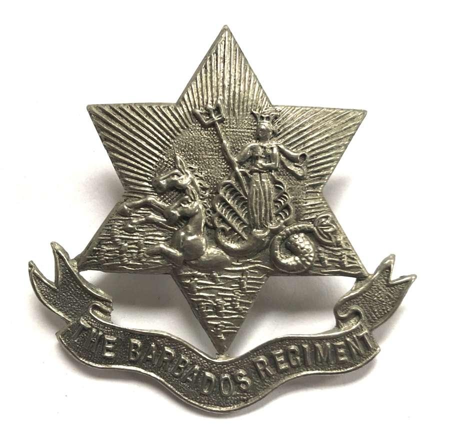 Barbados Regiment post 1948 OR's badge