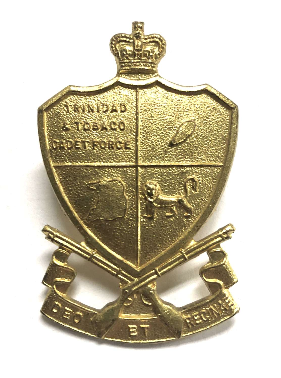 Trinidad & Tobago Cadet Force cap badge