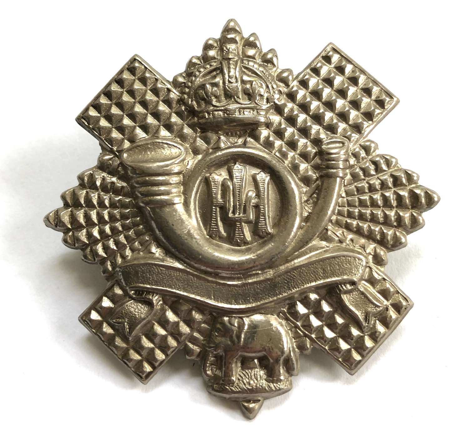 Highland Light Infantry 5th, 7th and 8th Bns. HLI glengarry badge