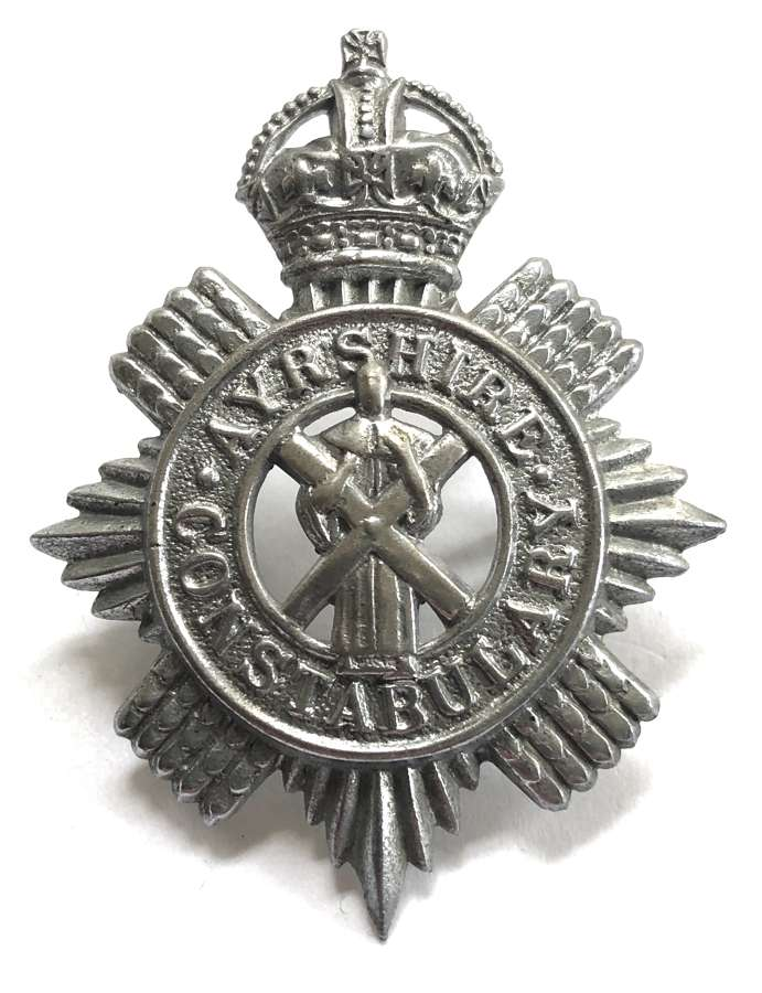 Ayrshire Constabulary pre 1953 cap badge.