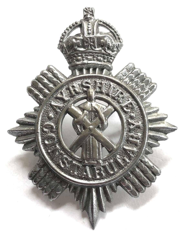Ayrshire Constabulary pre 1953 cap badge.