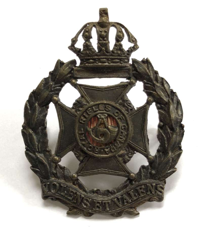 Royal Rifles of Canada cap badge