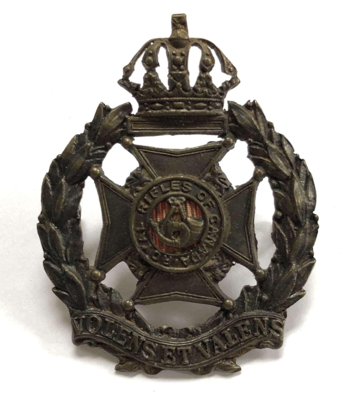 Royal Rifles of Canada cap badge