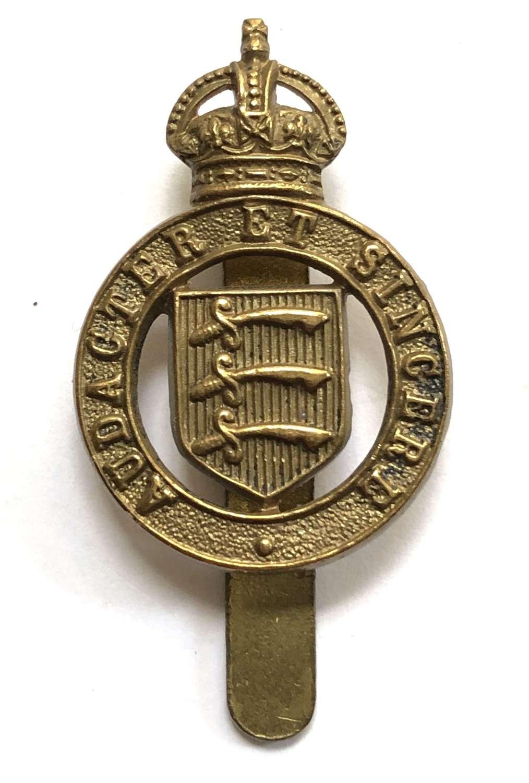 Essex Yeomanry WW2 cap/beret badge
