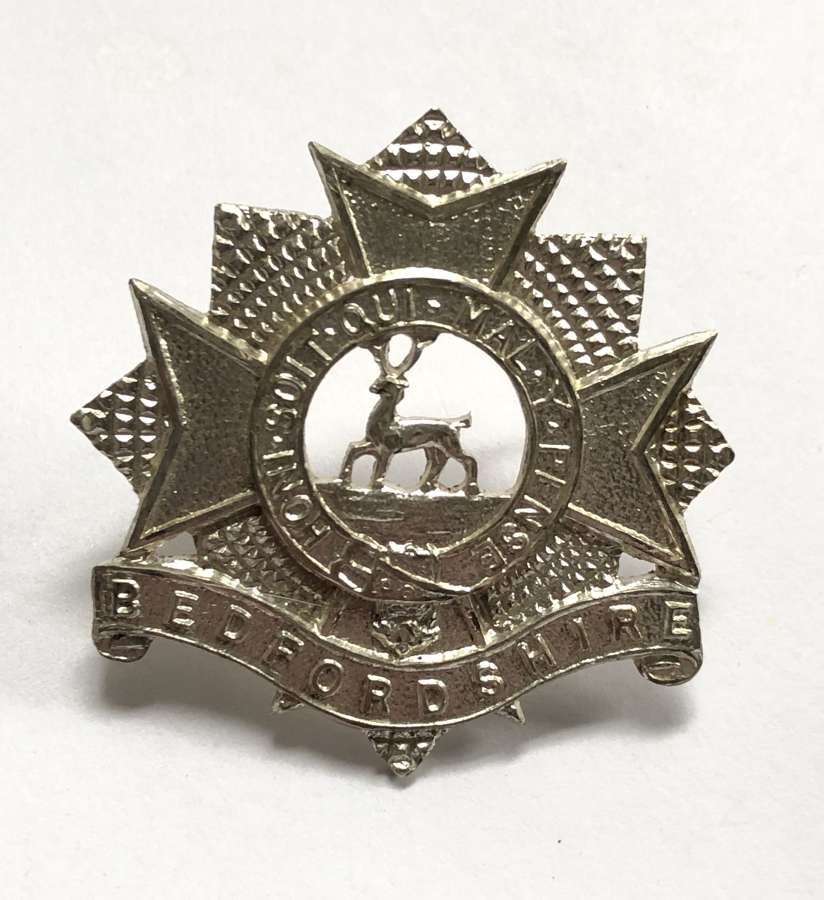 Bedfordshire Regiment post 1958 Officer's cap badge