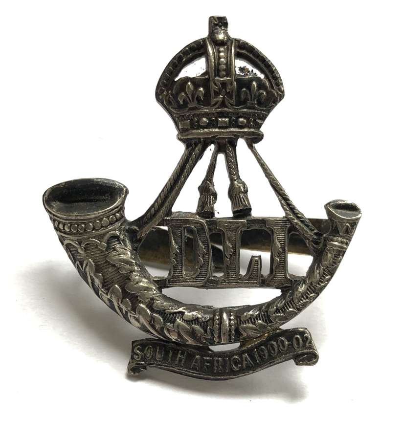 5th, 7th, 8th & 9th Bns. Durham Light Infantry Officer's cap badge
