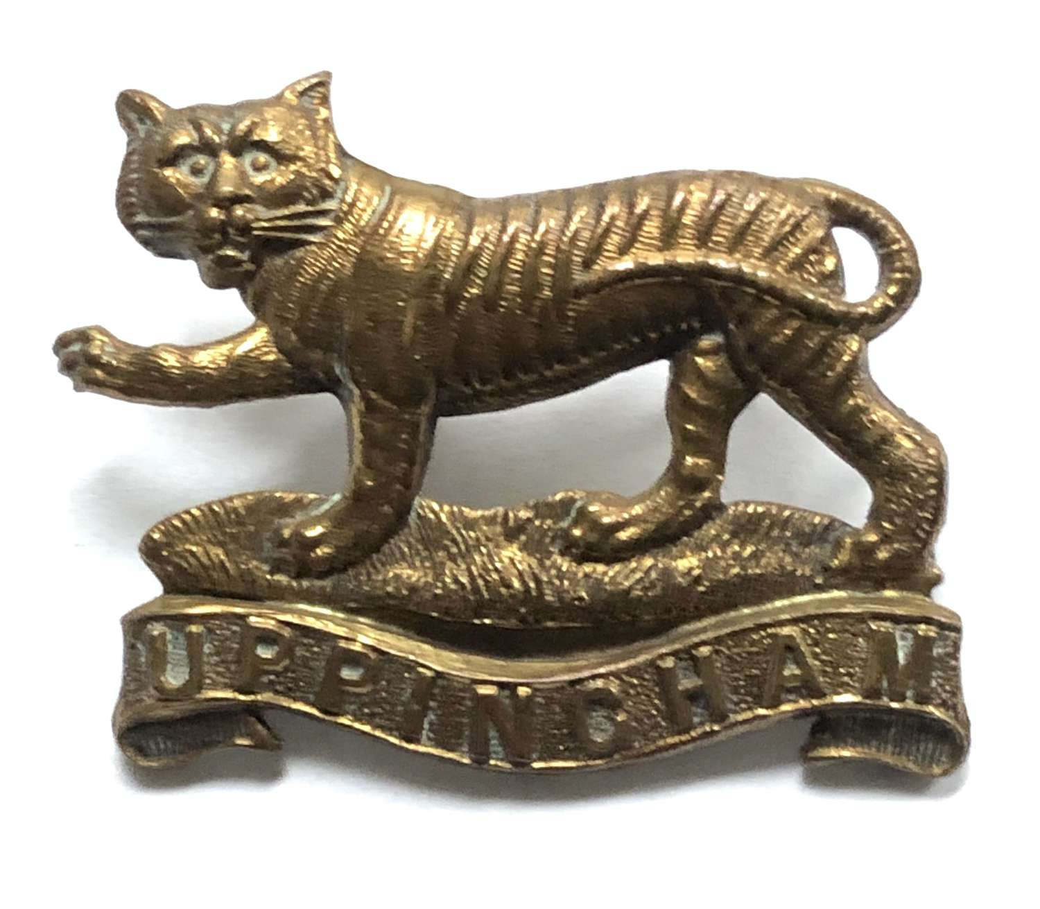 Uppingham School, Rutland OTC cap badge