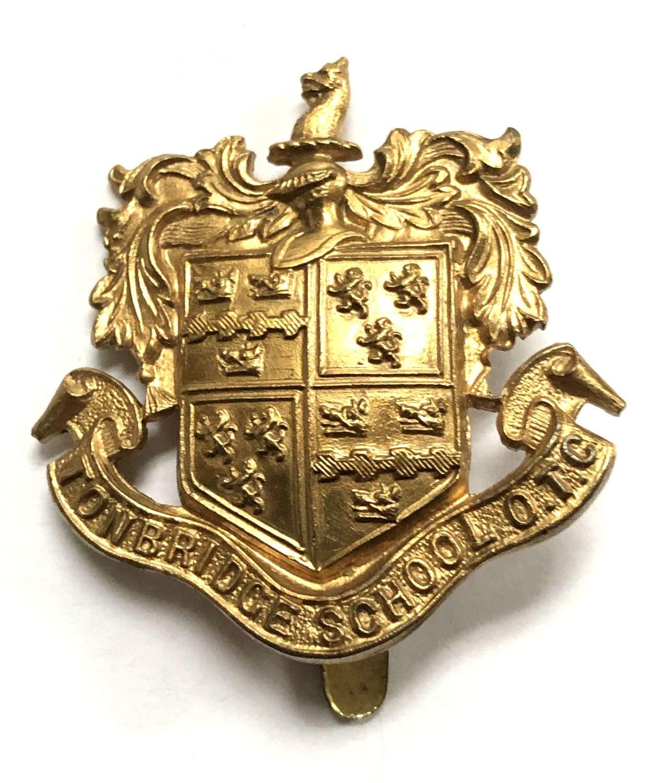 Tonbridge School OTC brass badge