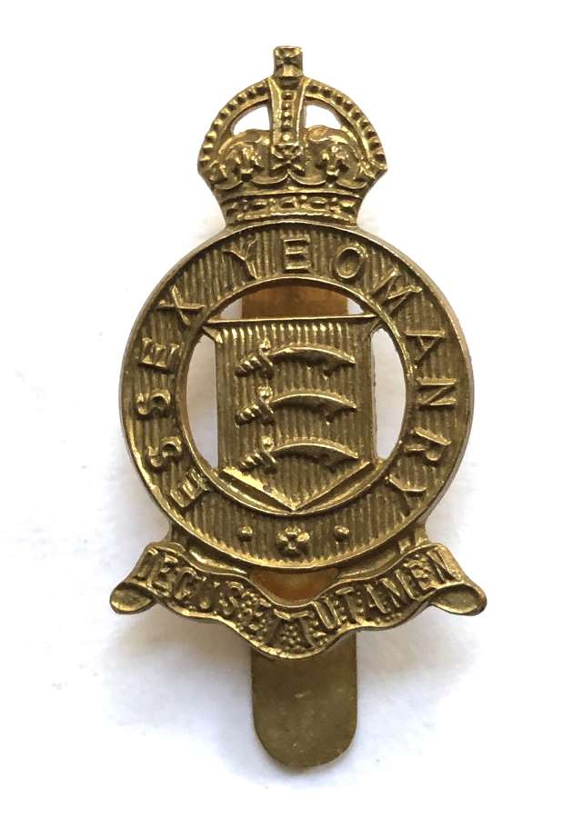 Essex Yeomanry beret badge