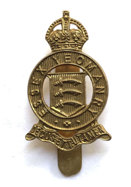 Essex Yeomanry beret badge
