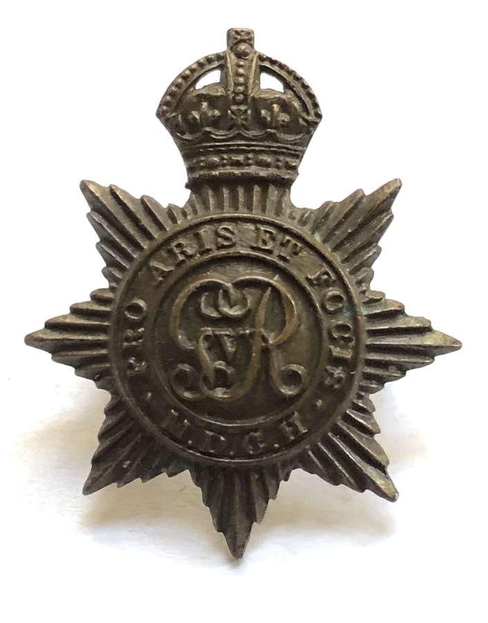 Middlesex Yeomanry post 1910 OSD bronze cap badge