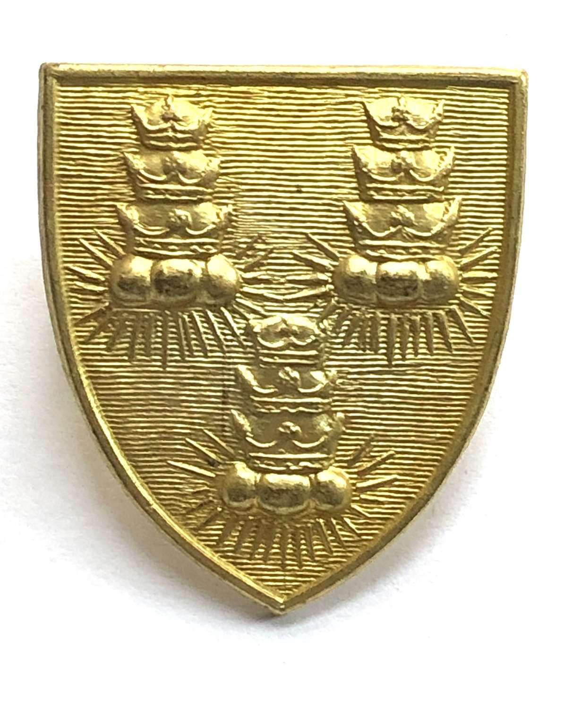 Bancroft's School, Woodford Green, Essex CCF cap badge