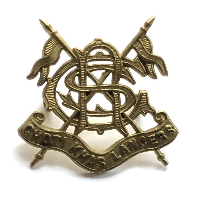 Indian Army: Choti Khas Lancers cap badge