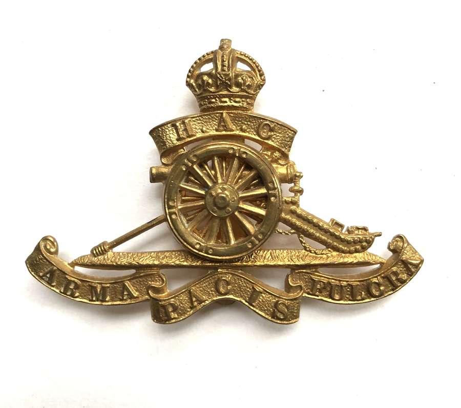 Honouurable Artillery Company HAC cap badge