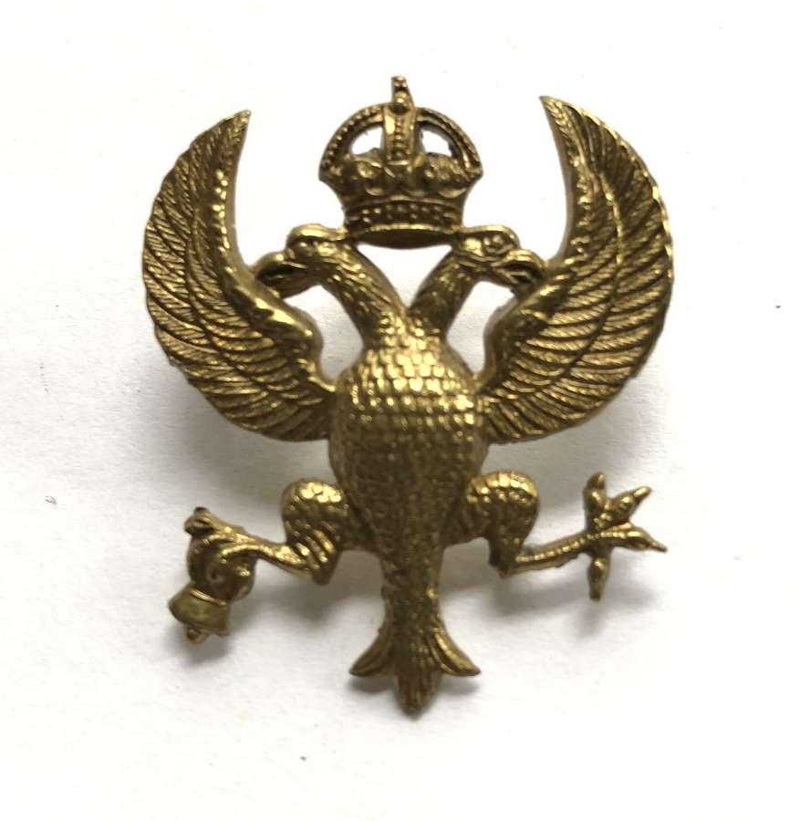 Lanarkshire Yeomanry cap badge