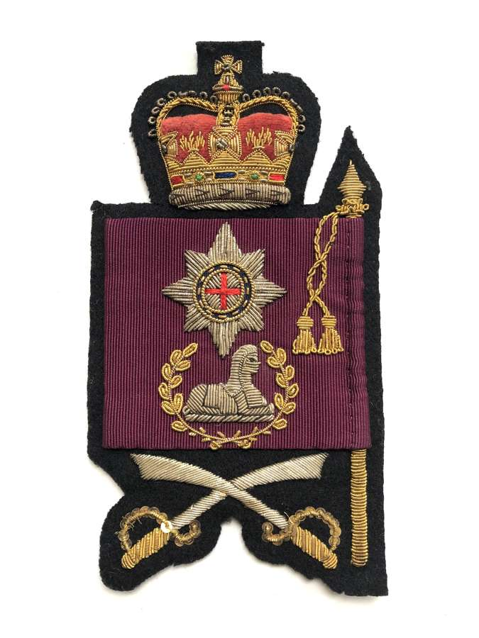Coldstream Guards Elizabeth II Colour rank badge