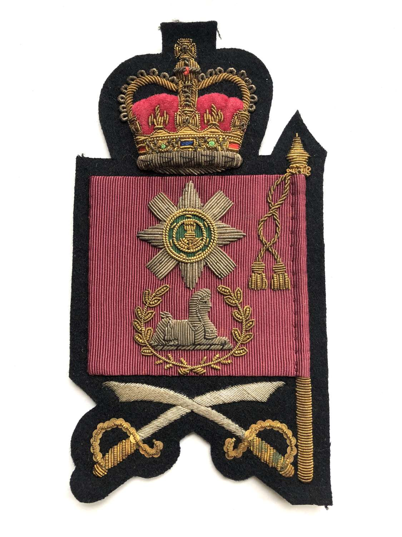 Irish Guards Elizabeth II Colour rank badge
