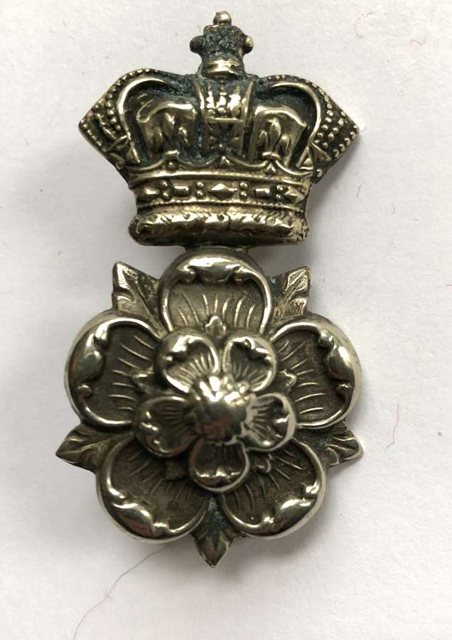 Yorkshire Dragoons Victorian NCO's arm badge