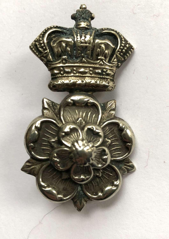 Yorkshire Dragoons Victorian NCO's arm badge