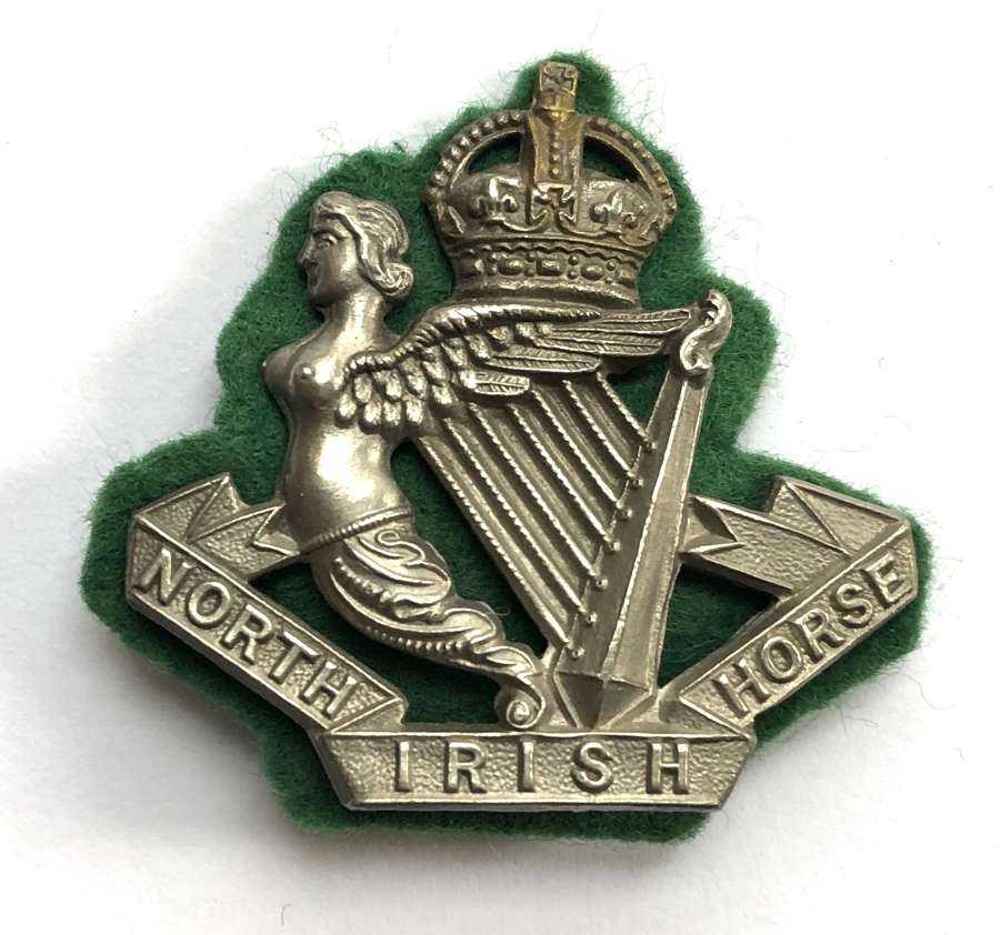 North Irish Horse post 1908 NCO's arm badge