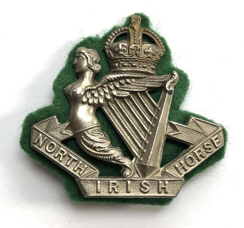 North Irish Horse post 1908 NCO's arm badge