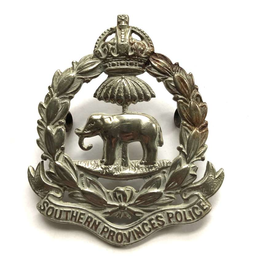 Nigeria. Southern Provinces Police post 1901 cap badge