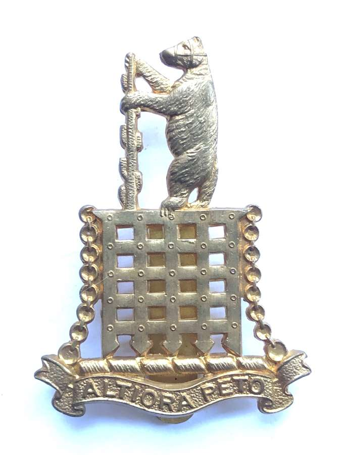 Warwick School OTC cap badge
