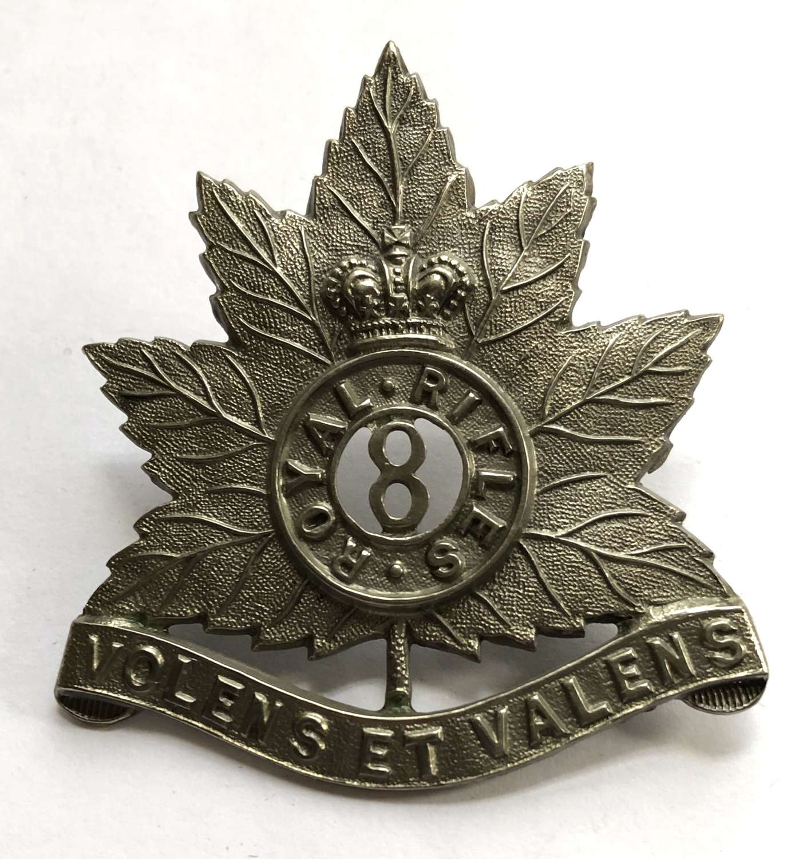 Canada, 8th Royal Rifles Victorian cap badge