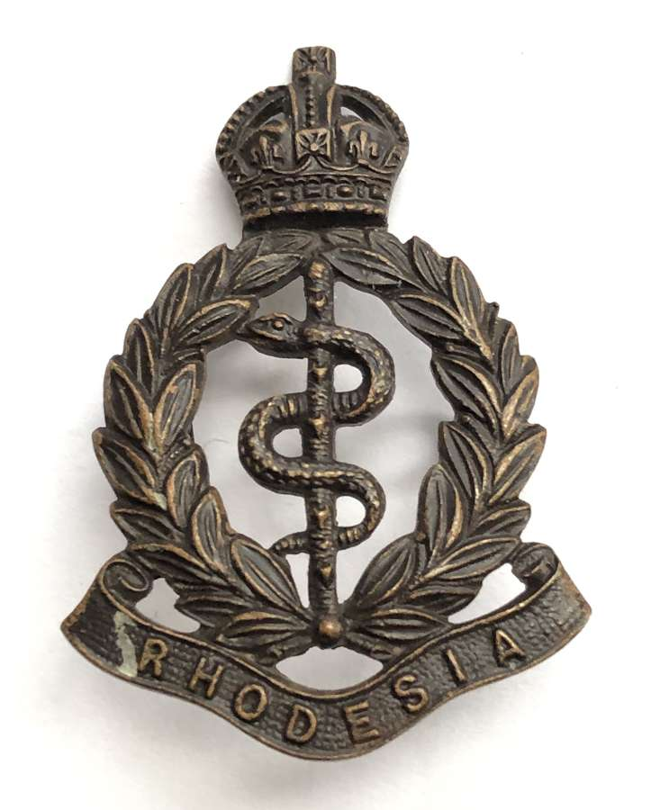Southern Rhodesia Medical Corps OSD bronze badge circa 1948-56