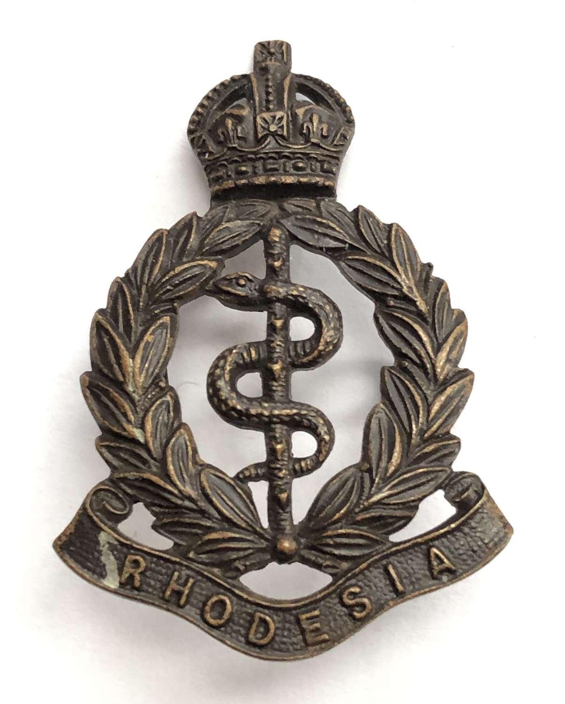 Southern Rhodesia Medical Corps OSD bronze badge circa 1948-56