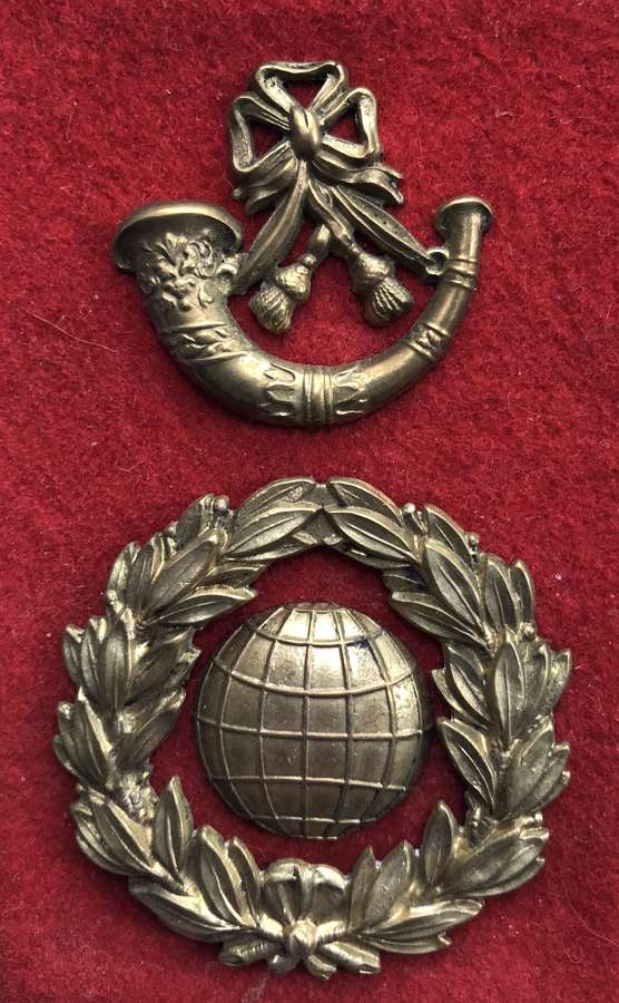 Royal Marine Light Infantry Victorian OR's glengarry badge c1870-97