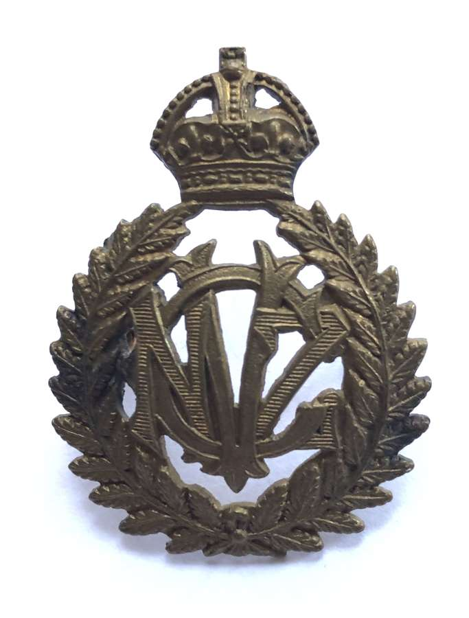 New Zealand Veterinary Corps WW1 cap badge by JR Gaunt, London