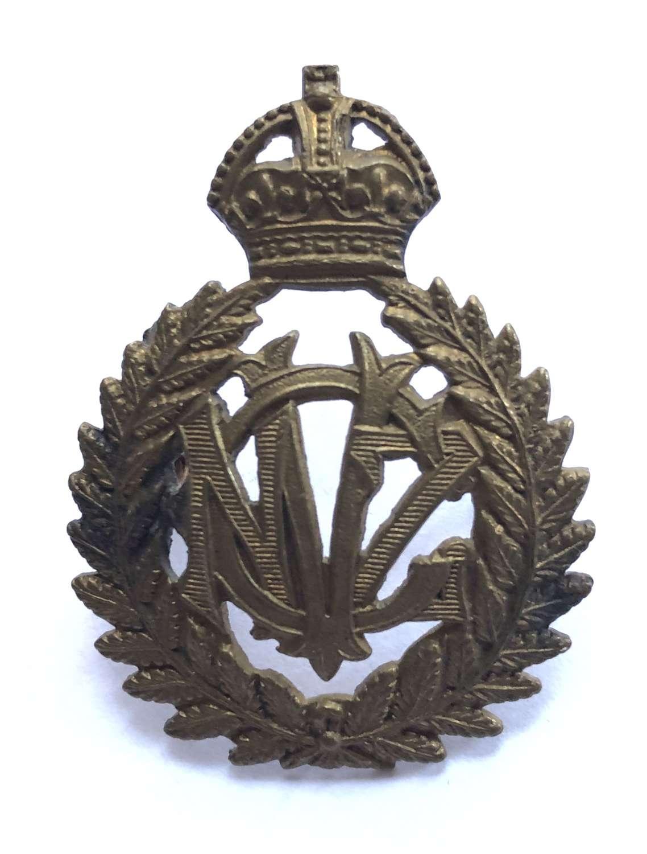New Zealand Veterinary Corps WW1 cap badge by JR Gaunt, London