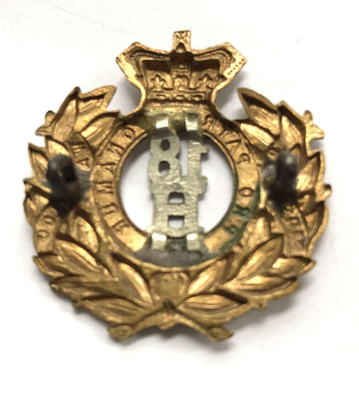 18th Hussars Victorian cap badge circa 1896-1901