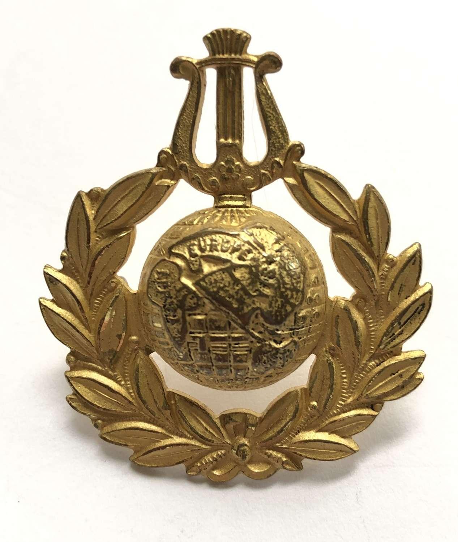 Royal Naval School of Music post 1936 senior NCO's cap badge
