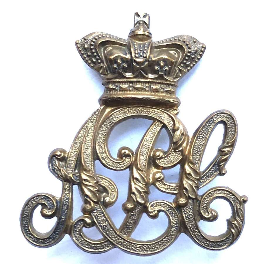 Army Pay Corps Victorian OR's Cap Badge circa 1896-1901