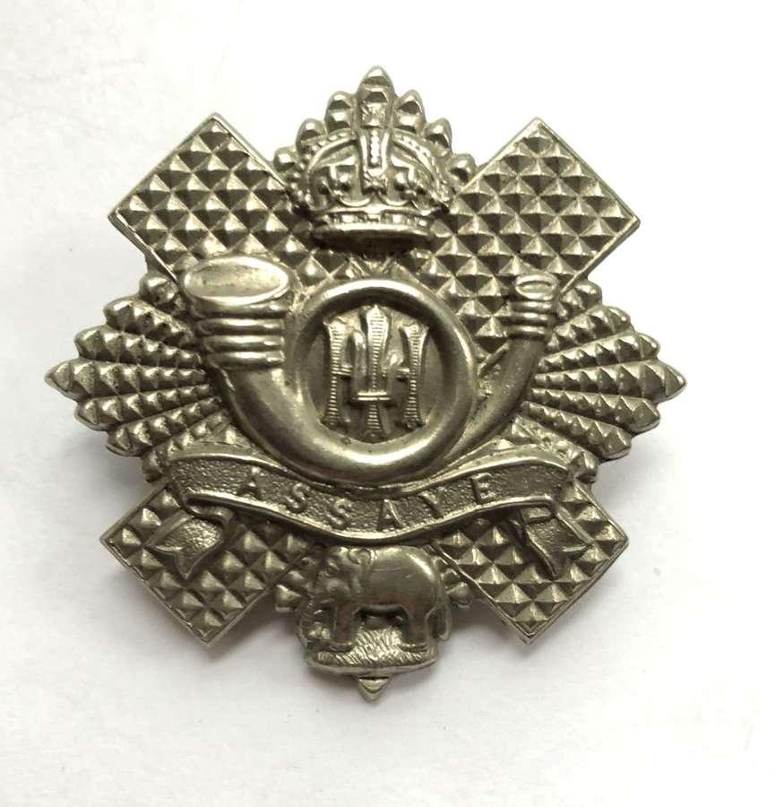 Scottish Highland Light Infantry long scroll HLI glengarry badge