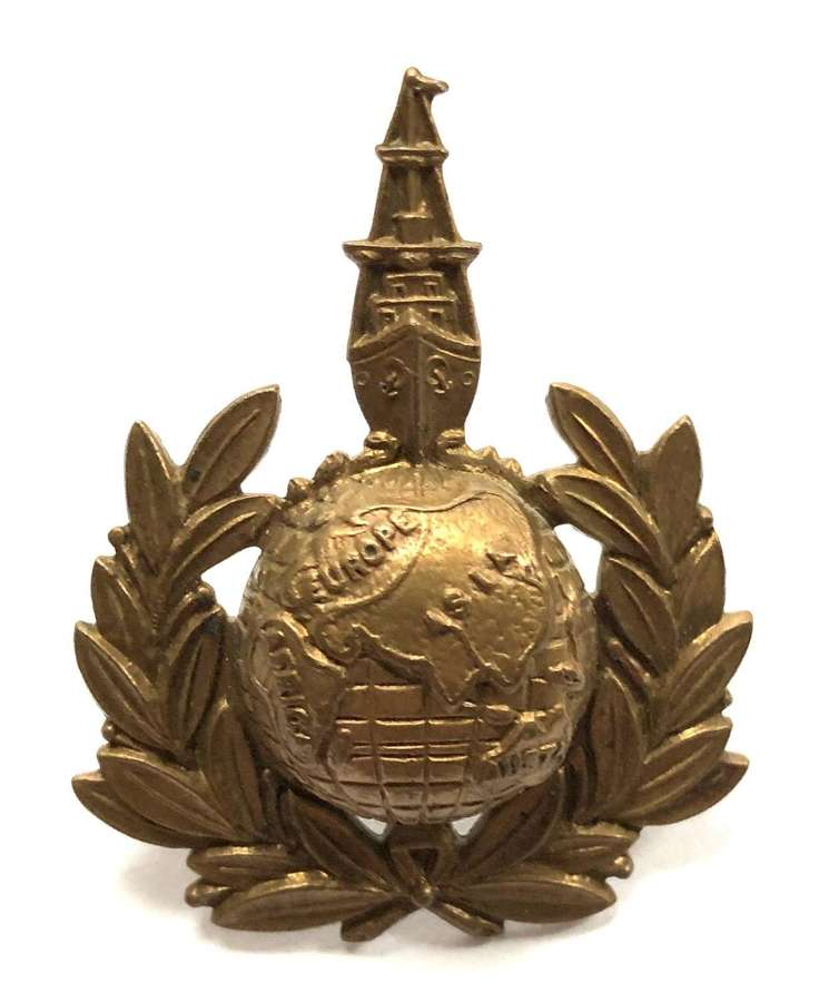 Royal Marines Labour Corps WWI cap badge circa 1917-19.