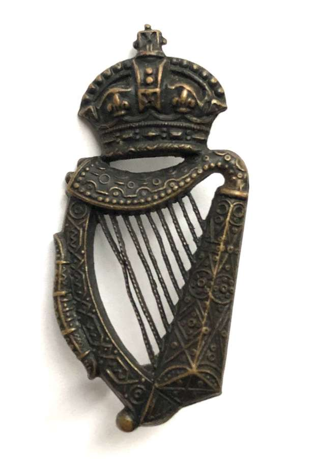 Royal Irish Constabulary Victorian Officer's cap badge