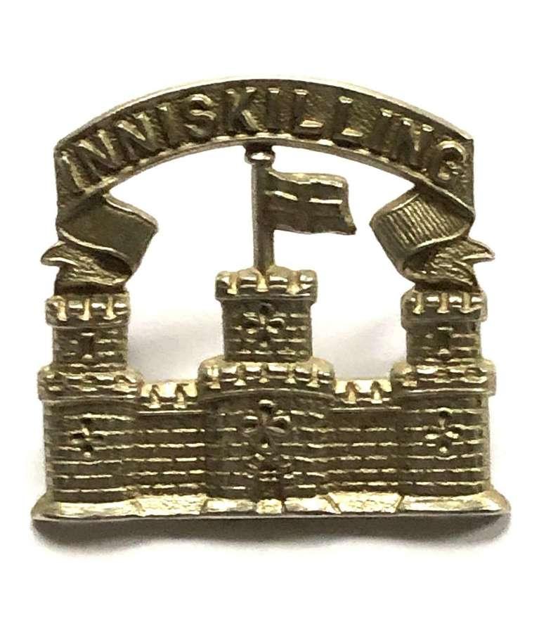 Royal Inniskilling Fusiliers cap badge circa 1926-34