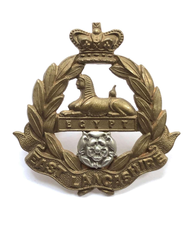 East Lancashire Regiment Militia Battalions Victorian cap badge