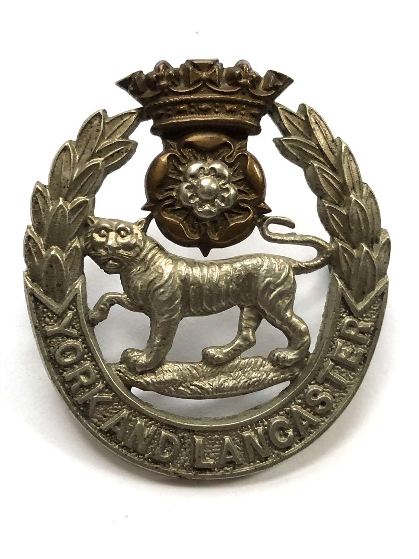1st VB (Hallamshire) York & Lancaster Regiment pre 1908 cap badge