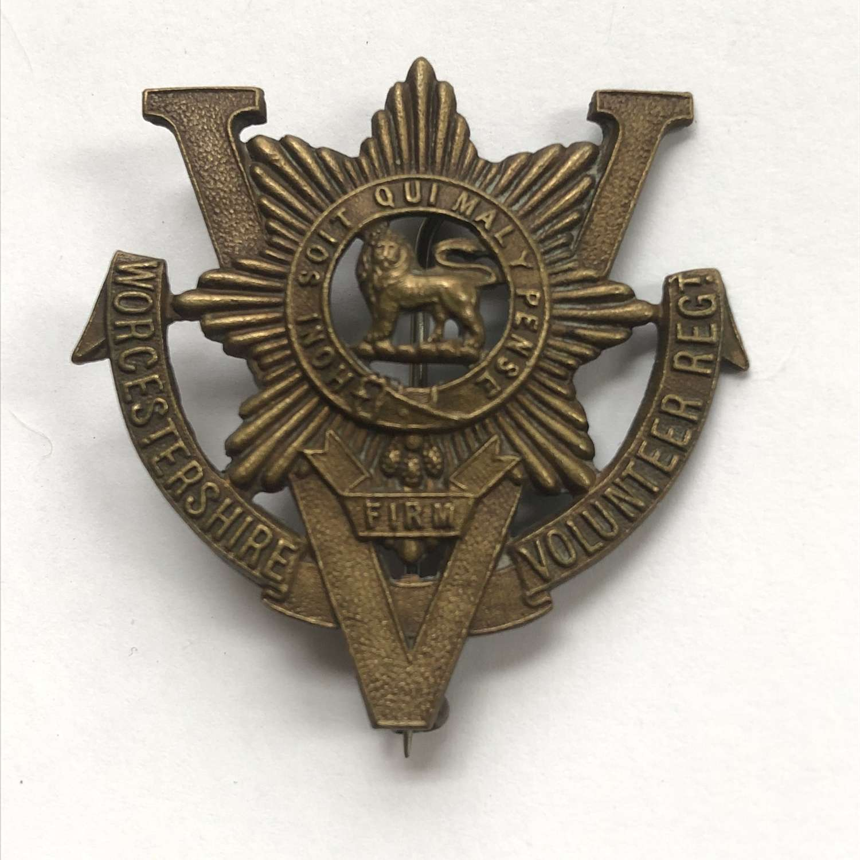 Worcestershire Volunteer Regiment WW1 VTC badge by J.R.Gaunt, London