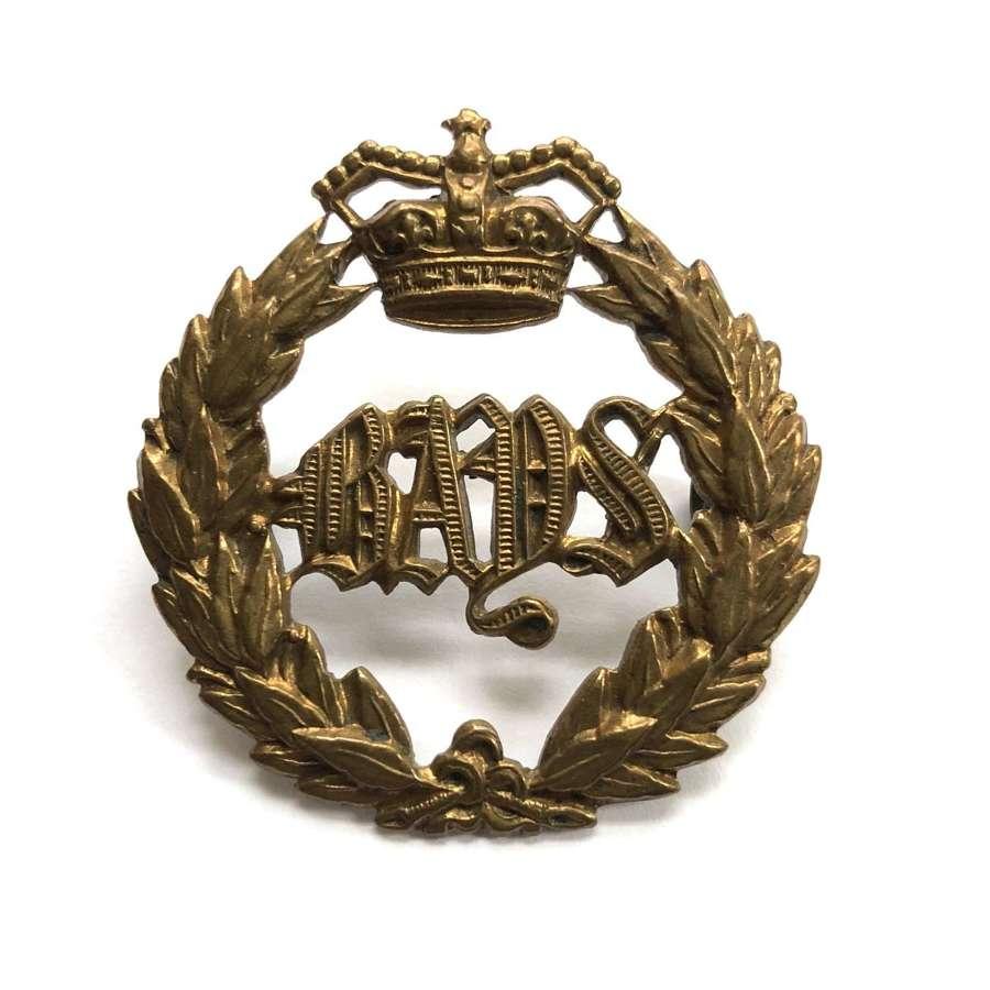 2nd Dragoon Guards (Queen's Bays) Victorian cap badge circa 1896-190