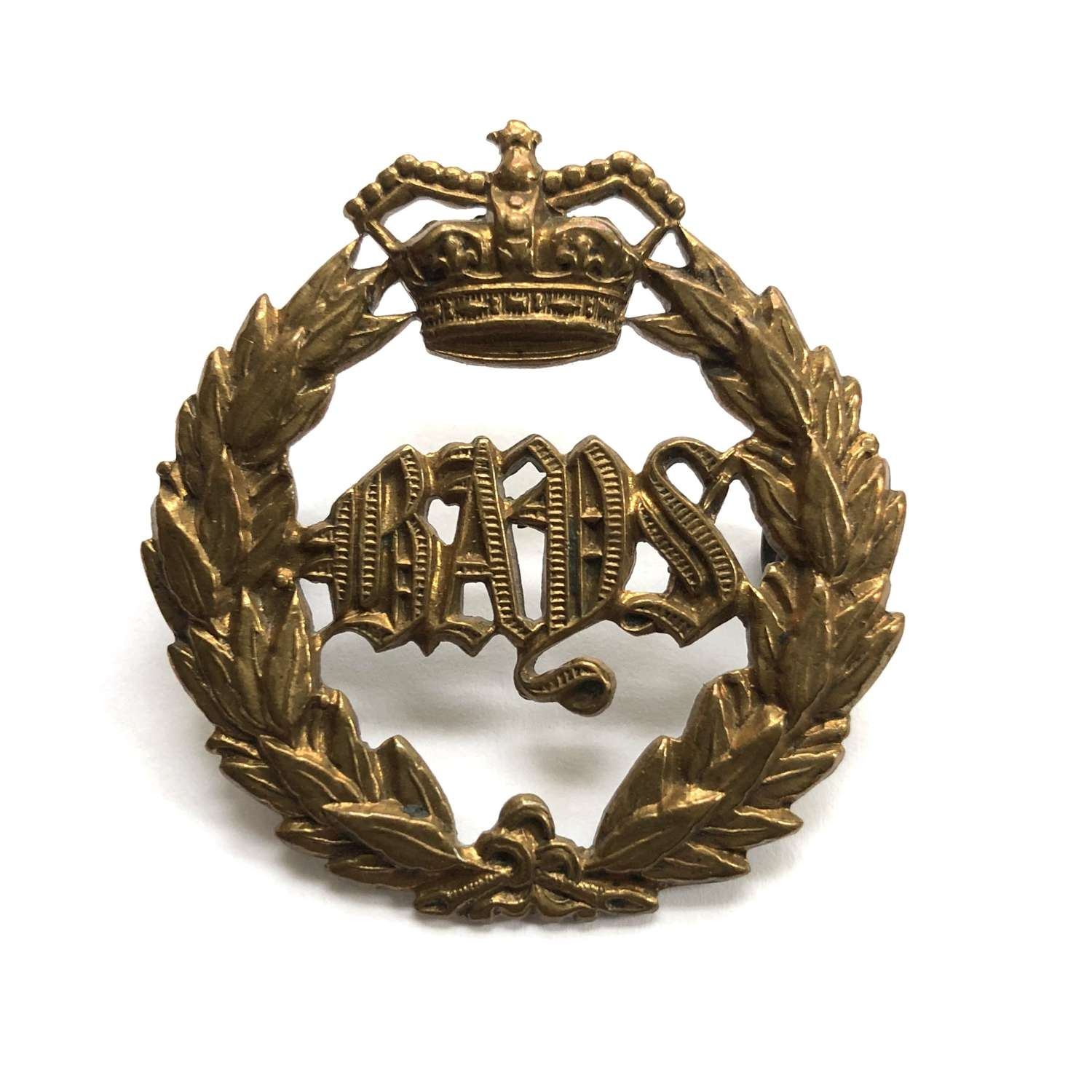 2nd Dragoon Guards (Queen's Bays) Victorian cap badge circa 1896-190