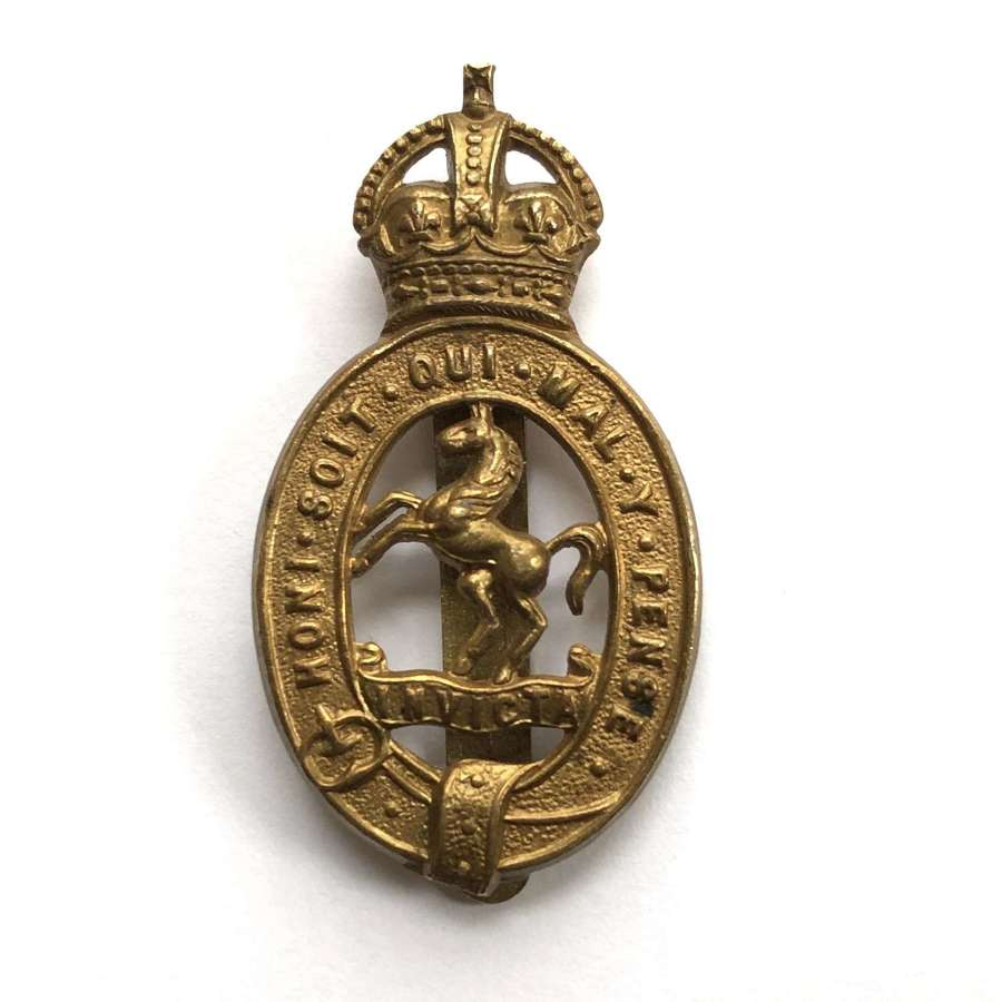Duke of Connaught's Own Royal East Kent Yeomanry cap badge