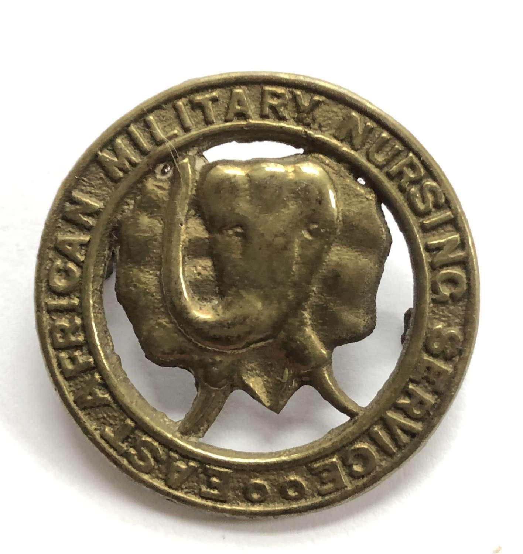 East African Military Nursing Service WW2 cap badge