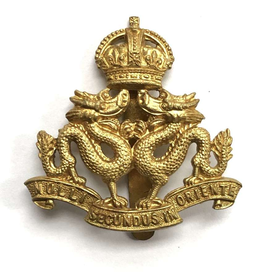 Hong Kong Volunteer Defence Corps cap badge circa 1931-46 by Firmin