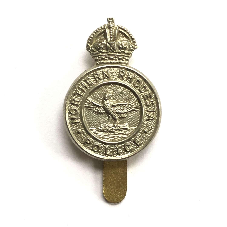 Northern Rhodesia Police pre 1953 cap badge by J.R. Gaunt, London